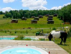 Unusual holiday accommodation in the Gers, Midi Pyrenees.