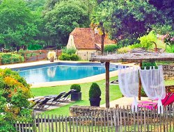 Holiday village near Sarlat in the Dordogne