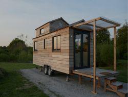 Hébergement insolite tiny house en Vendée.