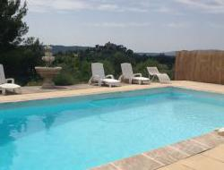 B&B with pool in Ansouis, in Provence.