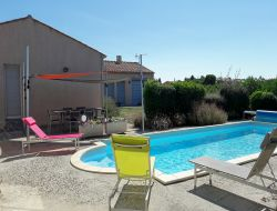 Holiday rental with pool near Carcassonne, France. near Fabrezan