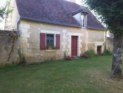 Holiday cottage near Tours in France.