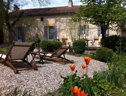 Holiday cottage near Bergerac in Dordogne, Aquitaine.