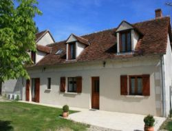 Holiday cottage close to Loire Castles.