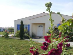 Seaside holiday home near Royan in Poitou Charentes, France.