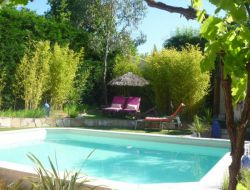 Bed & Breakfast with pool in Provence, France.