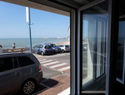 Seafront holiday rental in the Pas de Calais, France.