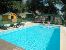 Holiday accommodations with heated pool in Morbihan, south Brittany.