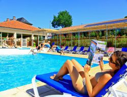 Holiday village in the Lot, Midi Pyrenees.