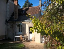 Holiday rental close to Tours in Loire Valley, France.