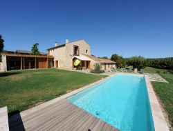 Holiday home with heated pool in Haute Provence, France.