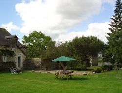 Holiday cottage near Chateau Gontier in Mayenne.