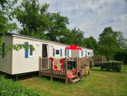 4 stars camping near Poitiers in France.