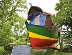 Unusual holiday rental in the south Brittany, France.