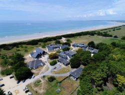 Seafront holiday residence in south Brittany, France near Belle Ile en Mer