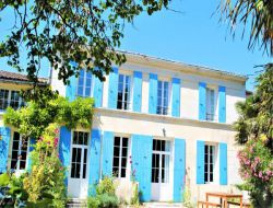 Large holiday home near Royan in Charente Poitou. near Gémozac