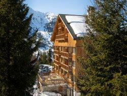 Location au pied des pistes a Méribel en Savoie.