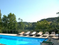 Holiday home with pool in Perigord, near Sarlat.