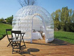 Unusual holiday accommodation close to Paris, France.