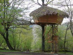 Séjour insolite en cabane dans les arbres dans les Pyrénées