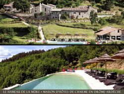 Charming B&B with pool in Ardeche, france