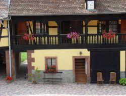 Gite de charme a louer en Alsace.