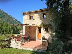 Holiday cottage in the Haute Provence, South of France. near Andon