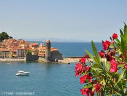 Holiday accommodation in Collioure, South of France.