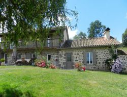 Holiday cottages with pool in Auvergne, France. near Fontanges