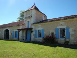 Holiday cottage near Perigueux in Aquitaine, France.