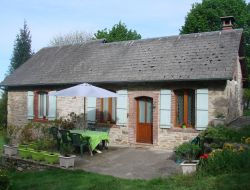Charming holiday cottage near Tulle in Limousin, France.
