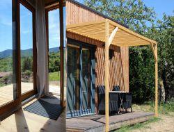 Cabane écologique à louer en Ardèche.