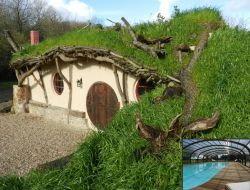 Unusual holiday accommodation in Normandy, France.