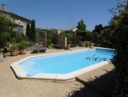 Holiday home with pool near Avignon in Provence.