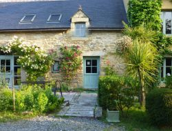 Seaside holiday home in southern Brittany, France. near Clohars Carnoet