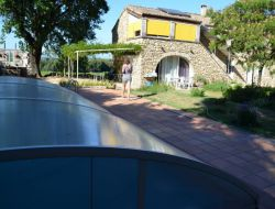 Holiday rental with pool in the Gard, France. near Uchaux