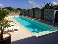 Location vacances avec jacuzzi en Guadeloupe