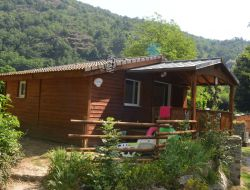 campsite mobilhome in french Pyrenees near Bolquere