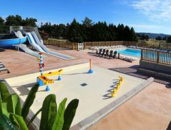 Holiday rentals on camping in lozere, France near Saint Jean la Fouillouse