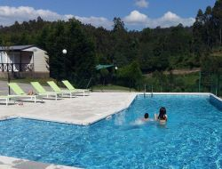 camping mobilhome en Galice, Espagne.