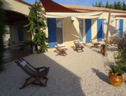B&B in La Palme on the Languedoc-Roussillon coast, France.