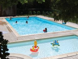 Holiday village in the Lot, Midi Pyrenees. near Reyrevignes
