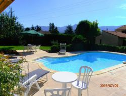 Holiday rental near Die in the Drome, France. near Recoubeau Jansac