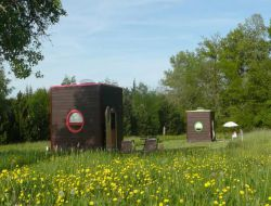 Unusual holidays accommodation near Tours in France.