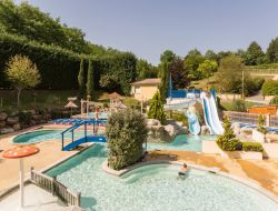 Luxury camping in Dordogne, Perigord, Aquitaine. near Monsac