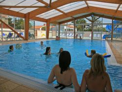 Holiday accommodation in a camping in Vendee, France.