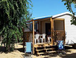 Camping mobilhomes a louer côte Aquitaine.