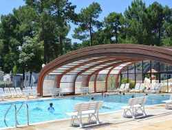 Camping near La Rochelle in Poitou Charente near Saint Just Luzac