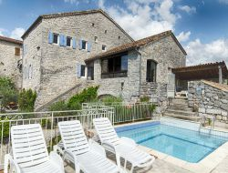 Holiday rental for a group in Ardeche, France. near Ruoms