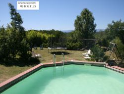 Big holiday home in Ardeche, France. near Saint Maurice d'Ibie